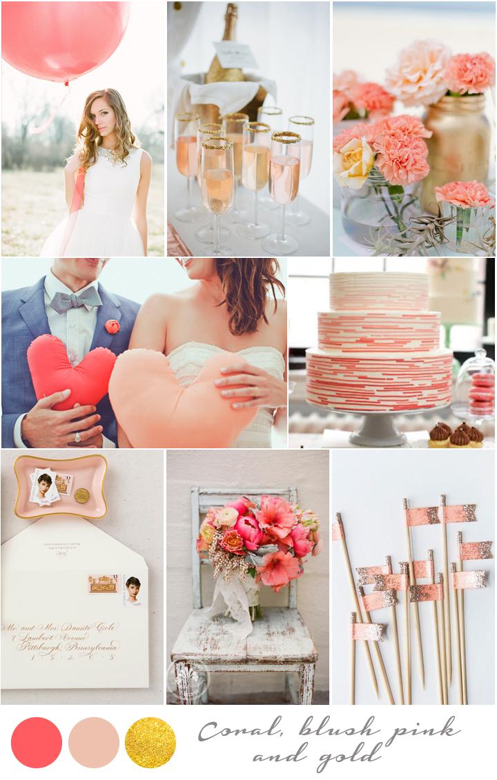 Top 5 de colores para bodas primavera verano 2014 - Decoracion de colores ...