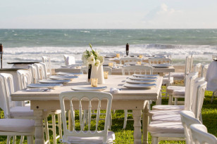 White Tables for Weddings